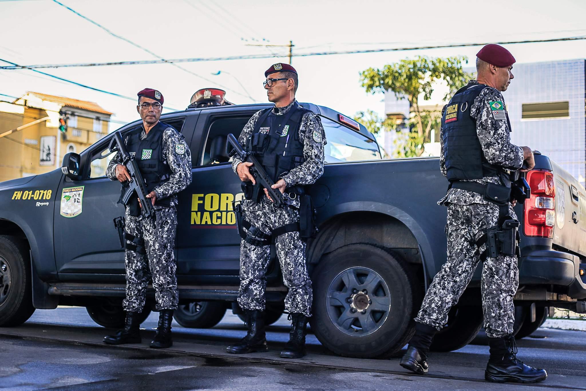 Força Nacional permanece por mais 90 dias em Cariacica