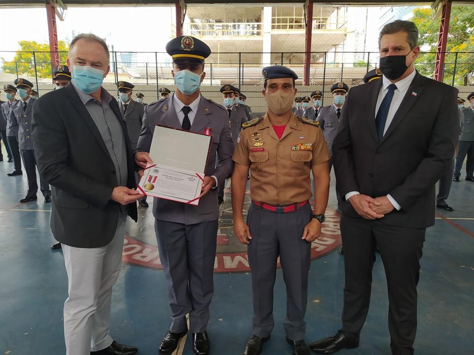 Polícia Militar e Corpo de Bombeiros realizam formatura de novas turmas de sargentos