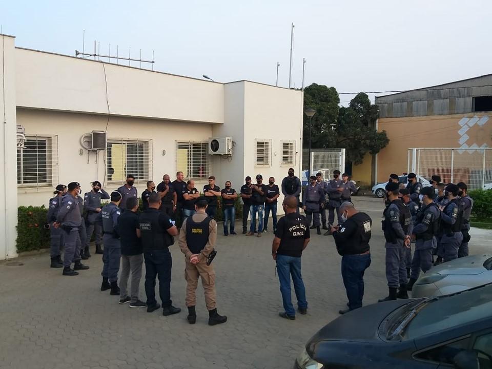 PM participa de operação integrada em Baixo Guandu