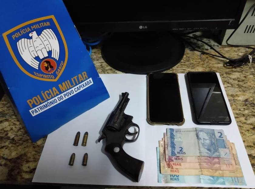 PM apreende armas de fogo e entorpecentes nesse fim de semana em Guarapari