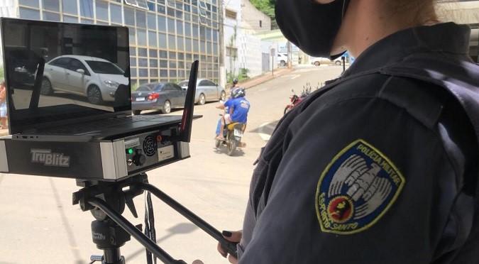 11º Batalhão utiliza Leitor de Placas para fiscalizações de trânsito
