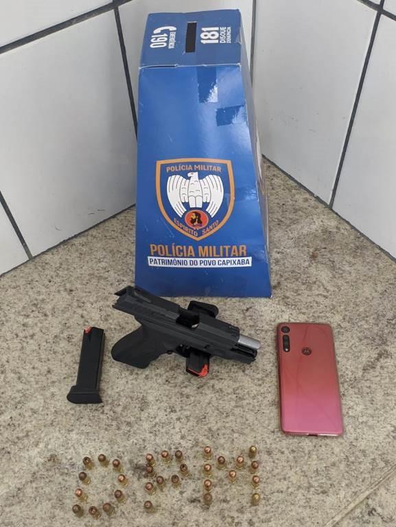 Polícia Militar apreende arma e munições em Boa Esperança