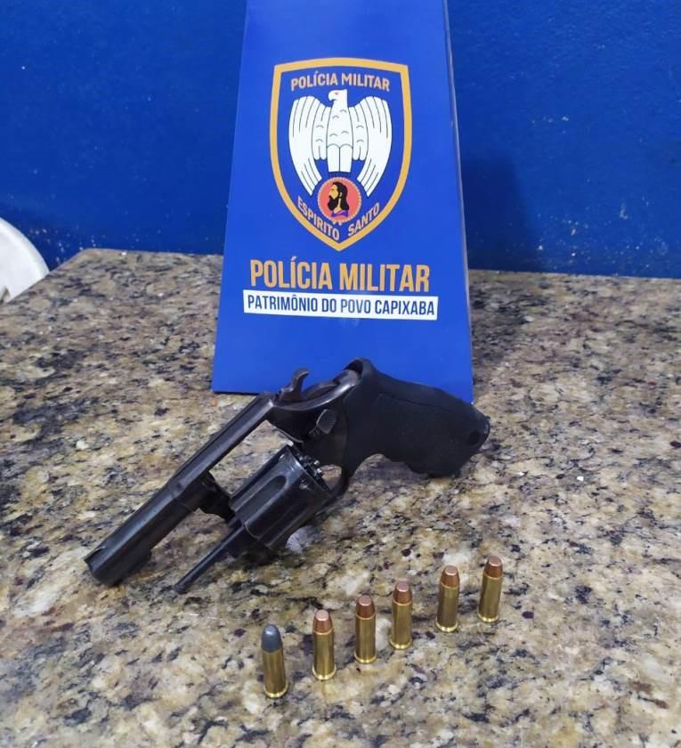 Polícia Militar apreende arma de fogo em São Gabriel da Palha