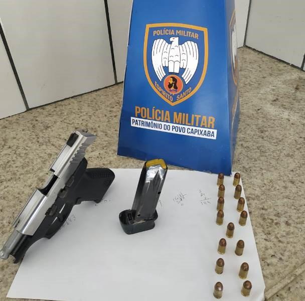 Jovens são detidos com arma de fogo pela PM em Boa Esperança