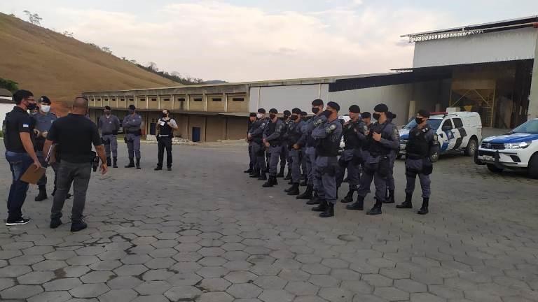 Cinco pessoas são detidas durante operação integrada entre a PM e PC em São Gabriel da Palha