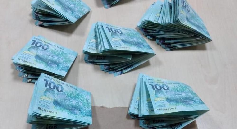 Polícia Federal apreende quase R$ 10 mil em notas falsas no Espírito Santo