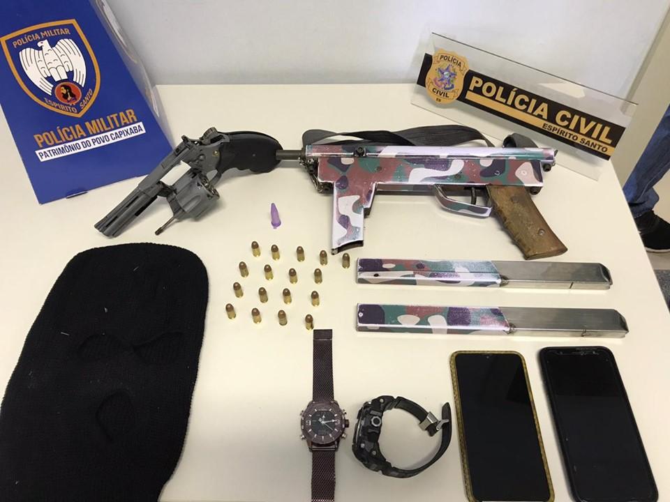 Suspeitos de roubos e tiroteios são presos em operação conjunta em Pinheiros