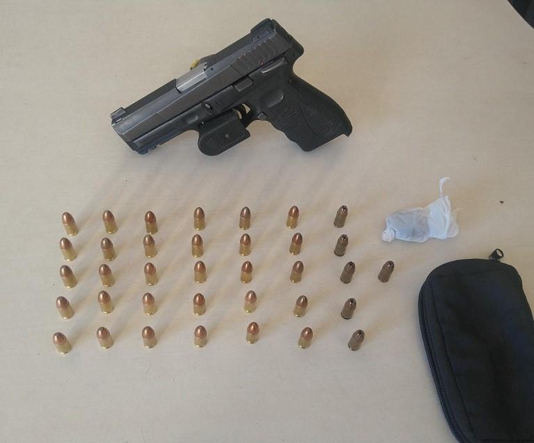 Policiais do 13º Batalhão apreendem armas, munições e drogas em São Mateus