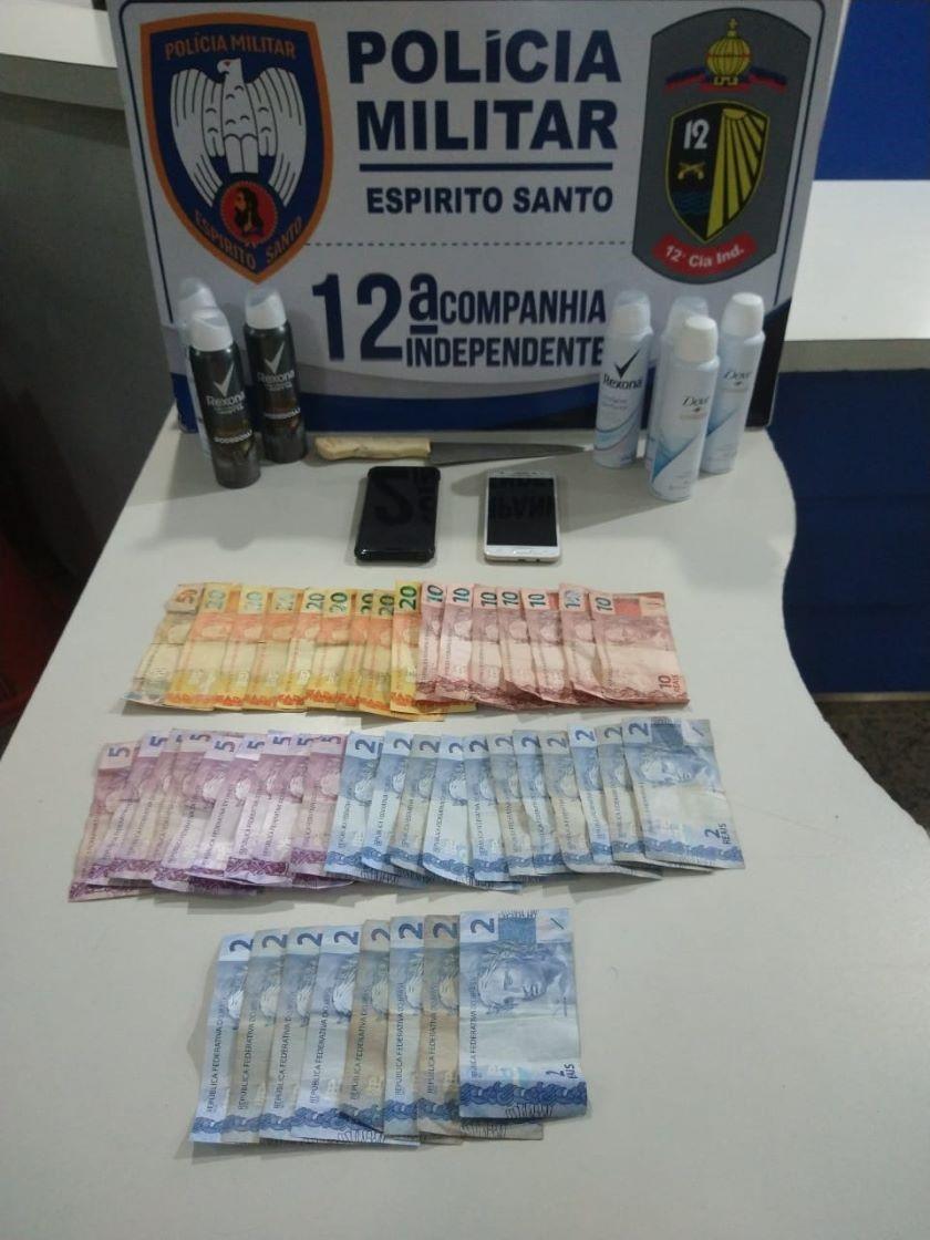 PM prende integrantes de quadrilha que assaltava farmácias em Vitória