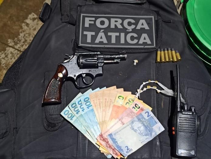 Força Tática apreende arma e munições na zona rural de Nova Venécia
