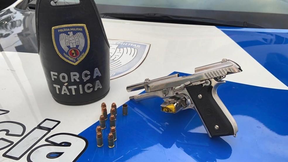 Suspeito de atuar como segurança do tráfico de drogas é preso em Vila Velha