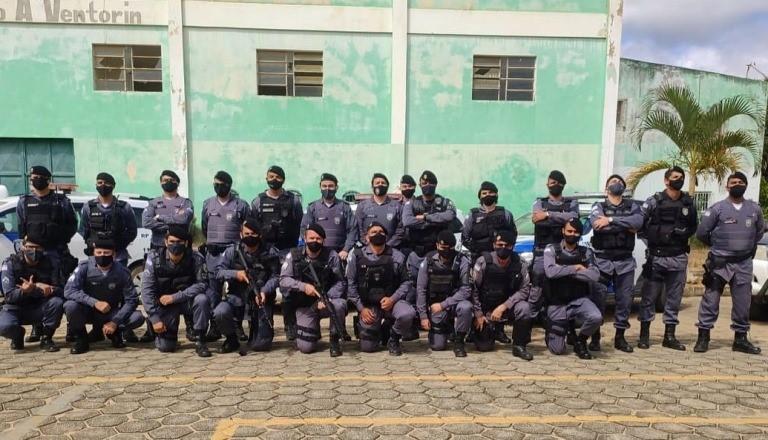 Operação Sentinela é realizada pela PM em Mantenópolis