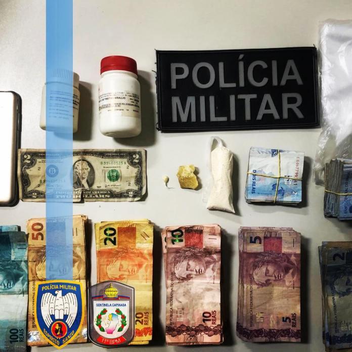 Suspeitos de tráfico de drogas são presos em Barra de São Francisco