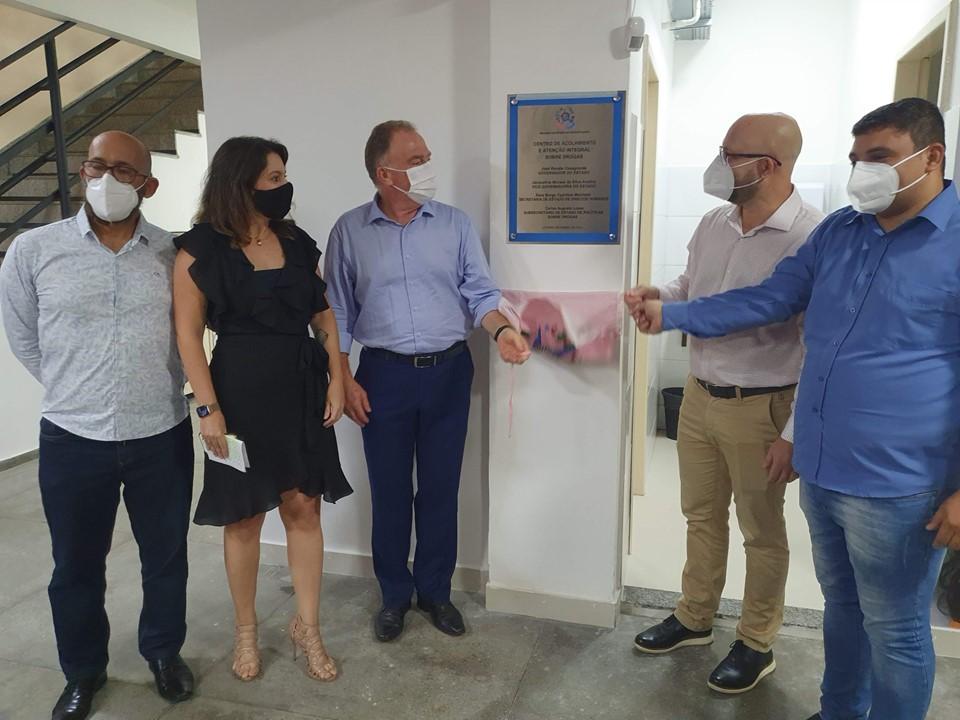 Governo do Estado lança Nova Rede Abraço e inaugura nova sede do CAAD