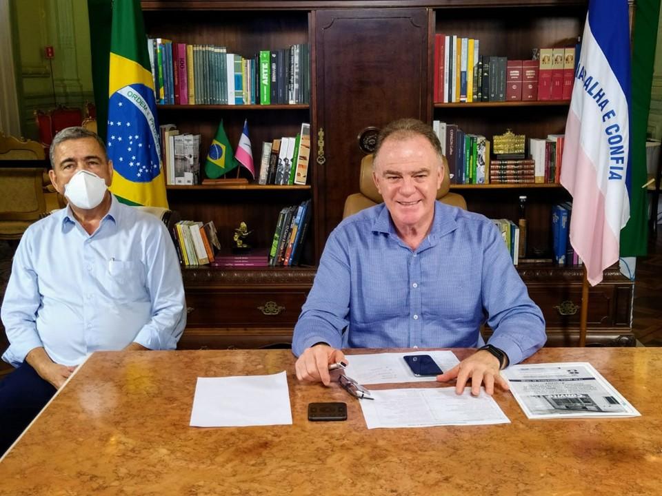 Casagrande anuncia obra em rodovia em Pinheiros e nova delegacia em Aracruz