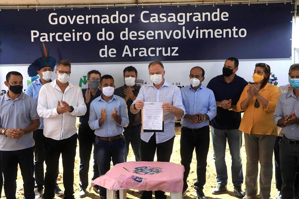 Governador autoriza obras do contorno da Região Urbana de Aracruz