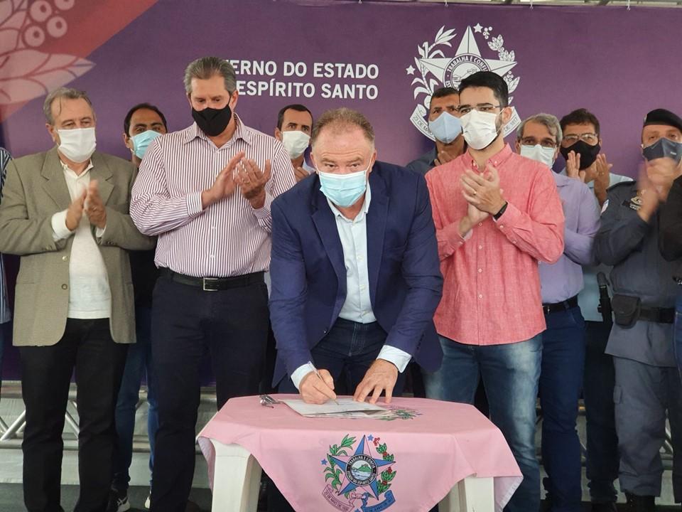 Governador autoriza obras em Cachoeiro de Itapemirim e expansão do SAMU 192 na região sul