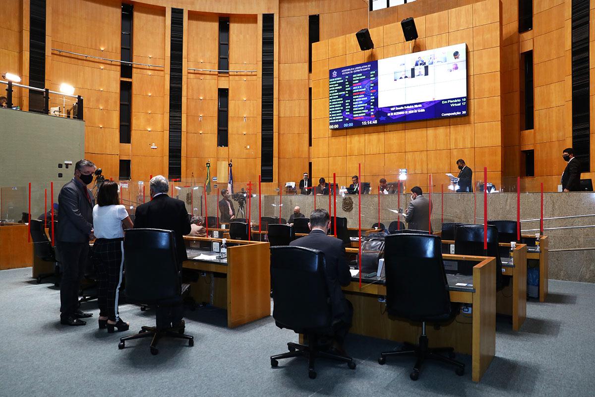 Assembleia Legislativa do ES escolhe presidente nesta segunda-feira (1º)