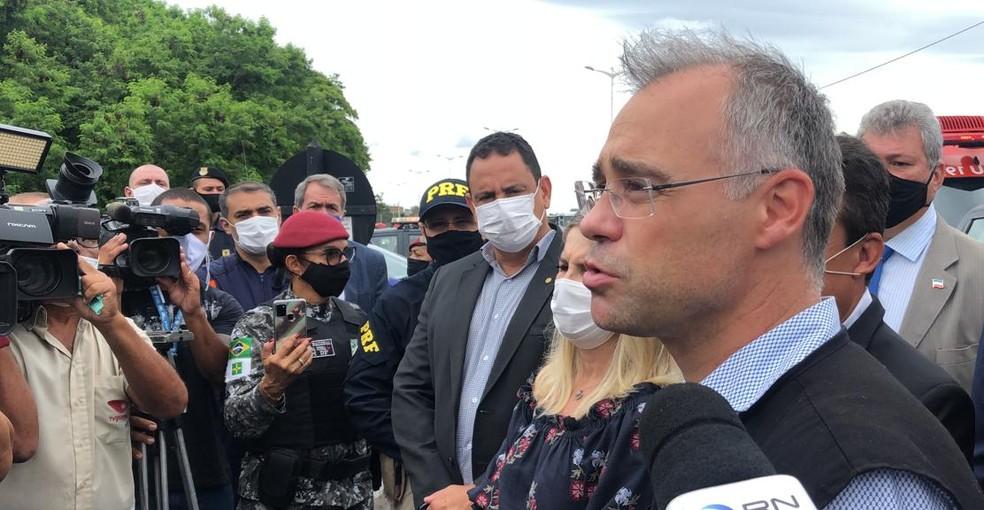 Posição do governo é que cabe ao Congresso, diz ministro da Justiça sobre Daniel Silveira