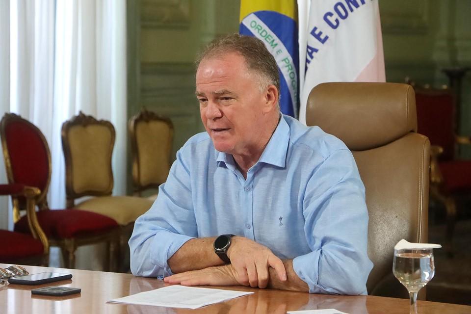 Governador se reúne com vereadores para debater cumprimento das medidas de enfrentamento à Covid-19
