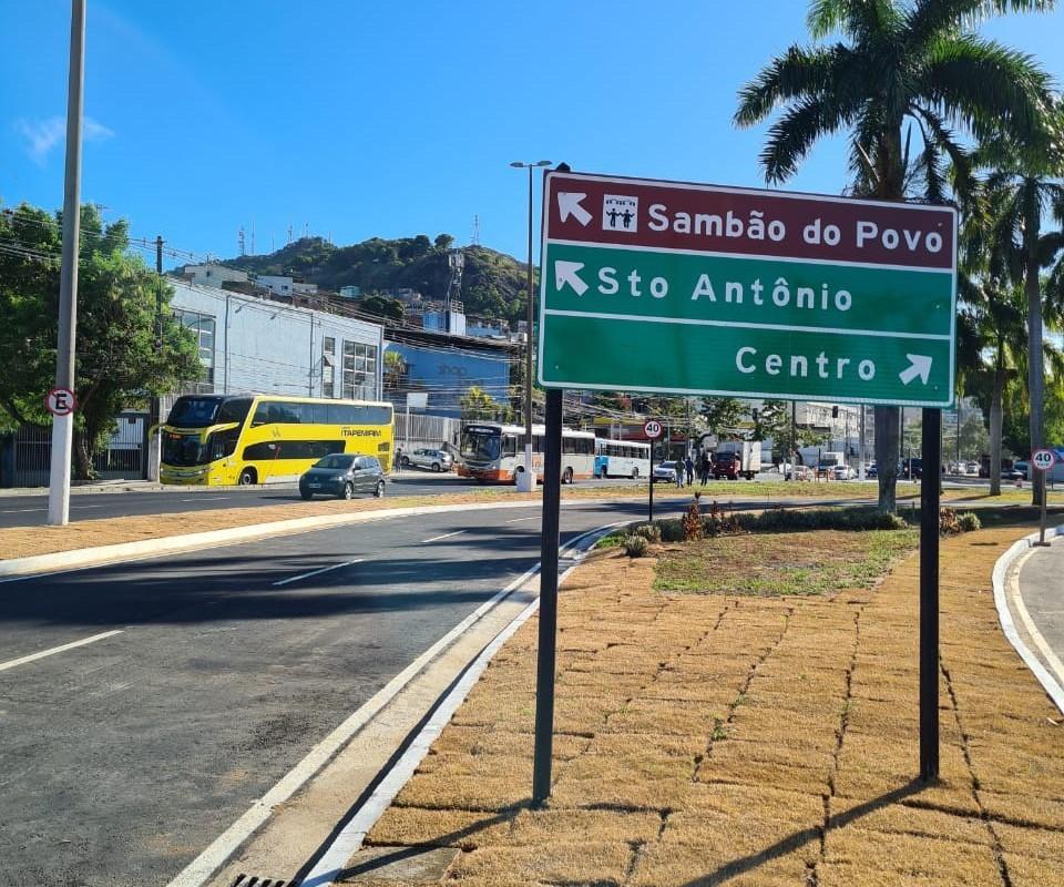 Governo do Estado inaugura novo acesso à região de Santo Antônio pela Segunda Ponte