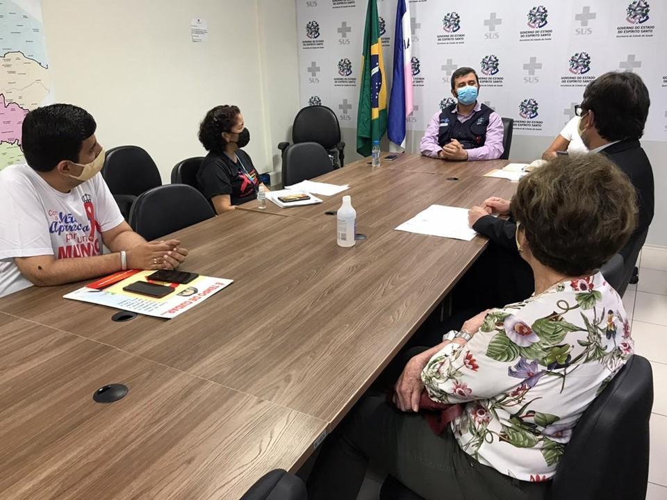 Sesa e Pastoral da Aids discutem fortalecimento das atividades de prevenção à doença