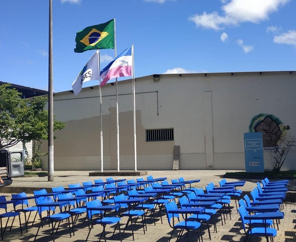 Mais sete unidades do Iases recebem materiais pedagógicos, esportivos e equipamentos