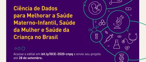 Chamada internacional apoia pesquisas em ciências de dados para melhorar saúde de mulheres e crianças