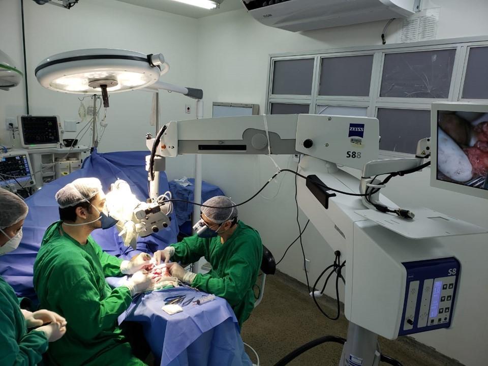 Reimplante de dedo é realizado no Hospital Antonio Bezerra
