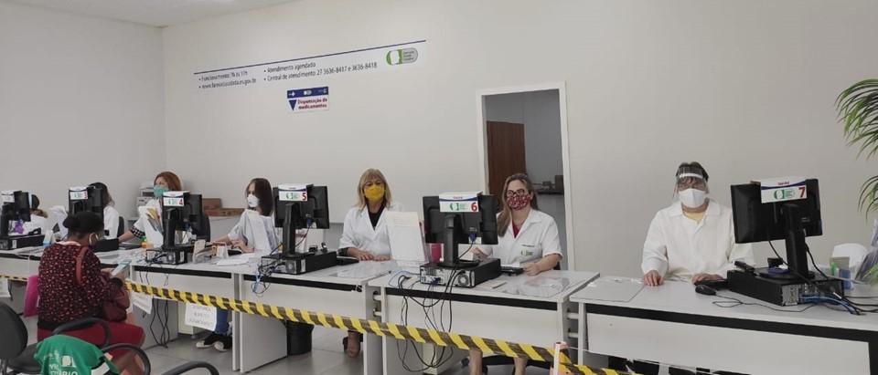 Unidades das Farmácias Cidadãs Estaduais realizaram mais de 330 mil atendimentos desde o início da pandemia