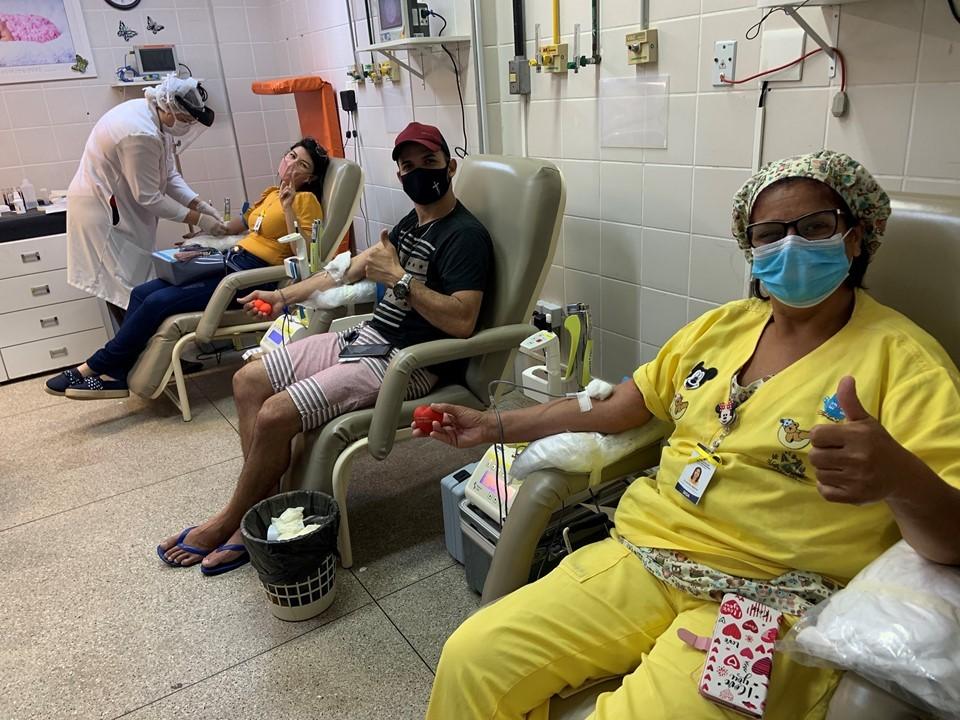 Hospital Infantil de Vila Velha promove mutirão para doação de sangue