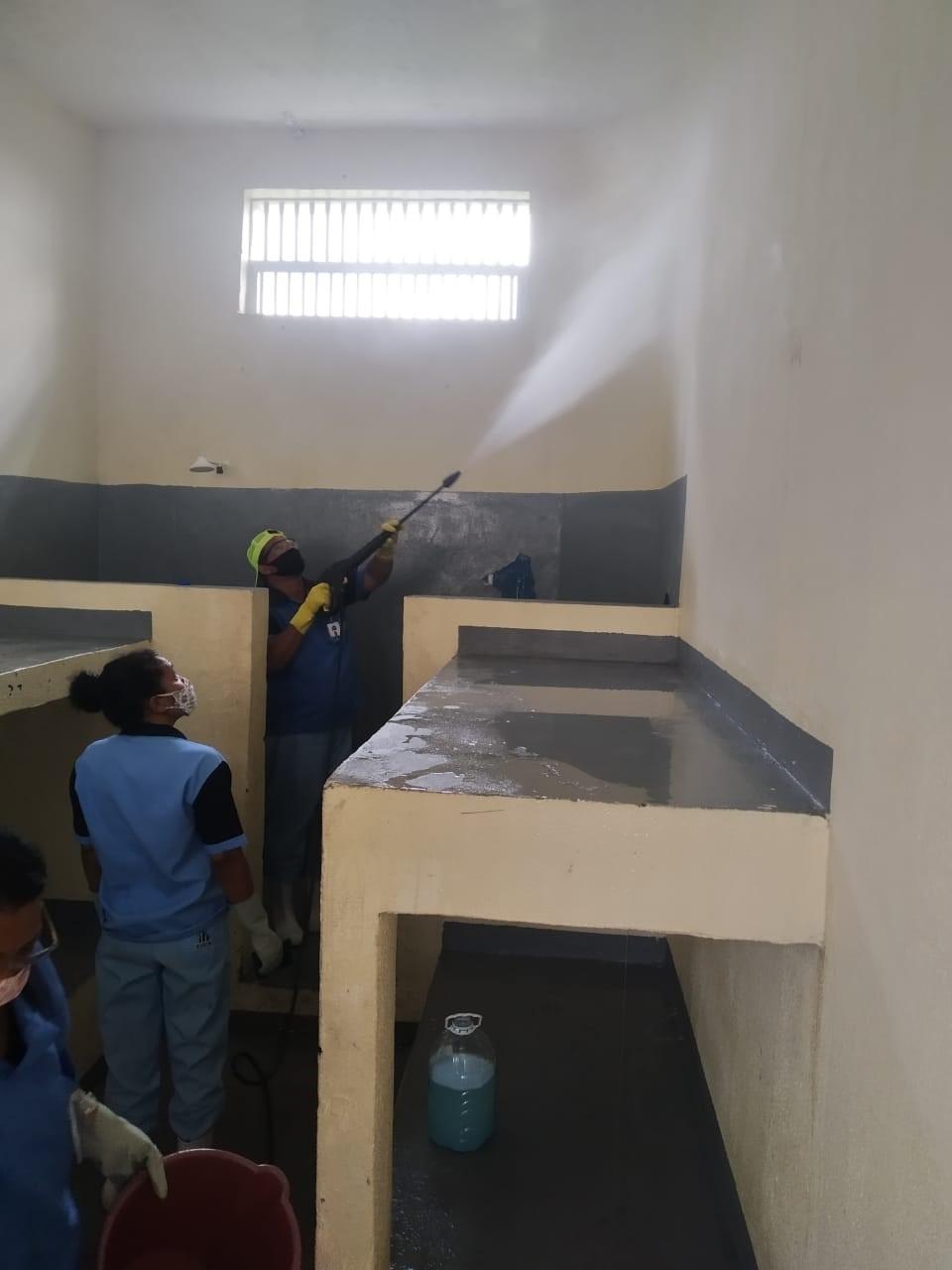 Unidades do Iases intensificam higienização dos seus espaços