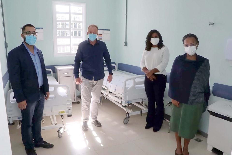 Governo entrega 40 novos leitos clínicos no Hospital Estadual de Atenção Clínica