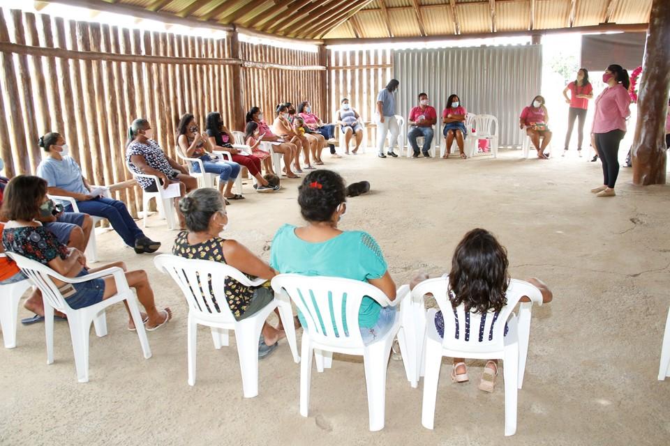 Outubro Rosa: segunda ação integrada da SEDH e Sesa é realizada em comunidade indígena de Aracruz