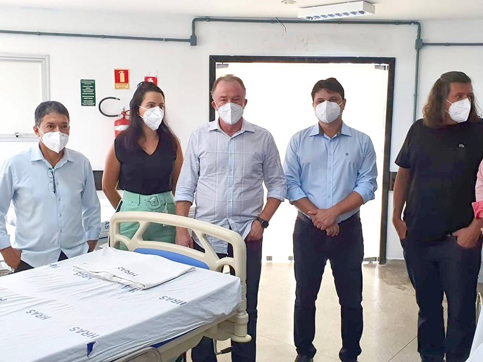 Governo do Estado anuncia abertura de mais leitos Covid-19 na região Centro-Norte de Saúde