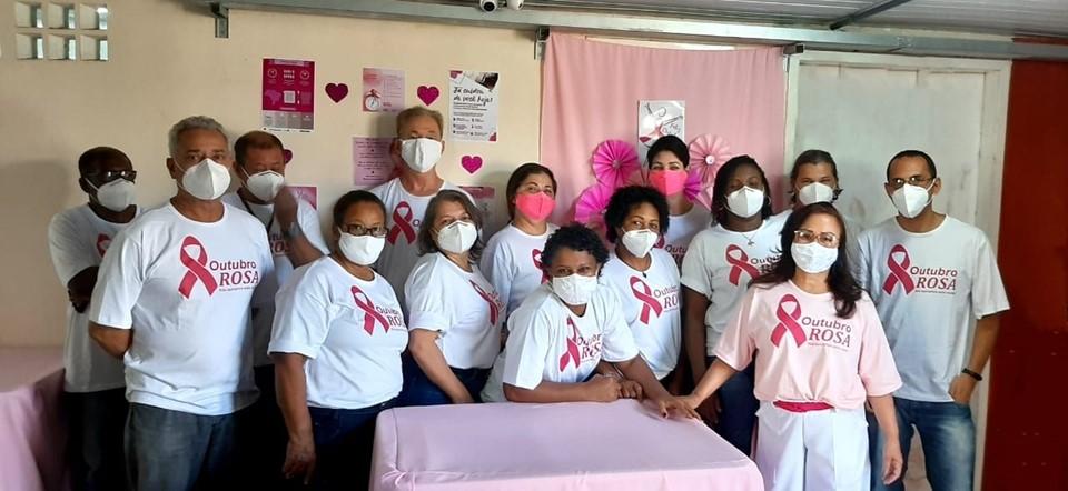 Outubro Rosa: hospitais da rede estadual promovem ações de conscientização ao câncer de mama