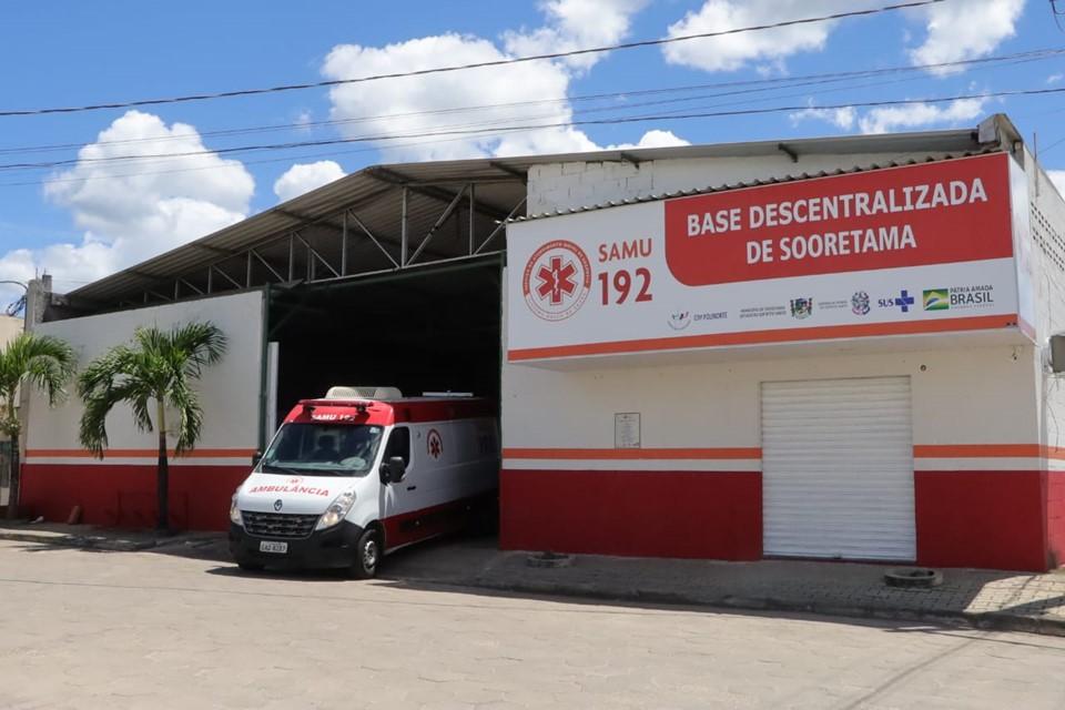 SAMU 192: mais sete municípios da região Central são contemplados com o serviço
