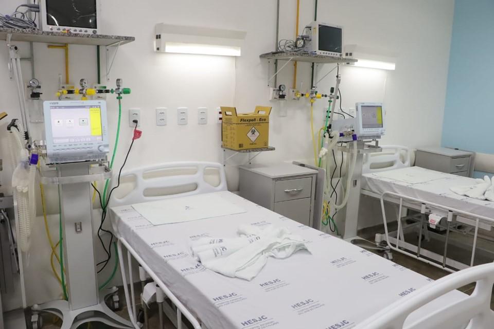 Governo amplia mais 22 leitos de UTI no Hospital Estadual São José do Calçado