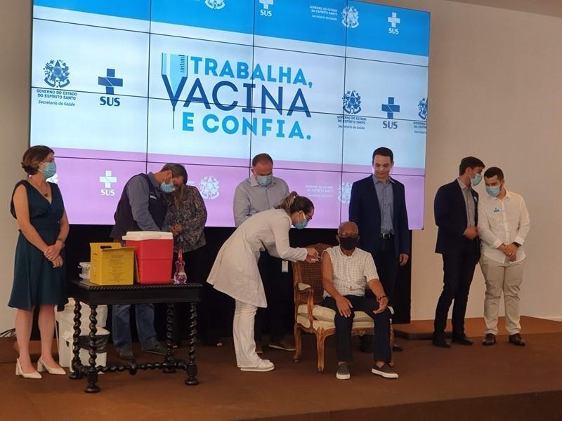 Estado realiza nova atualização para ampliar grupos prioritários na Campanha de Vacinação contra Covid-19