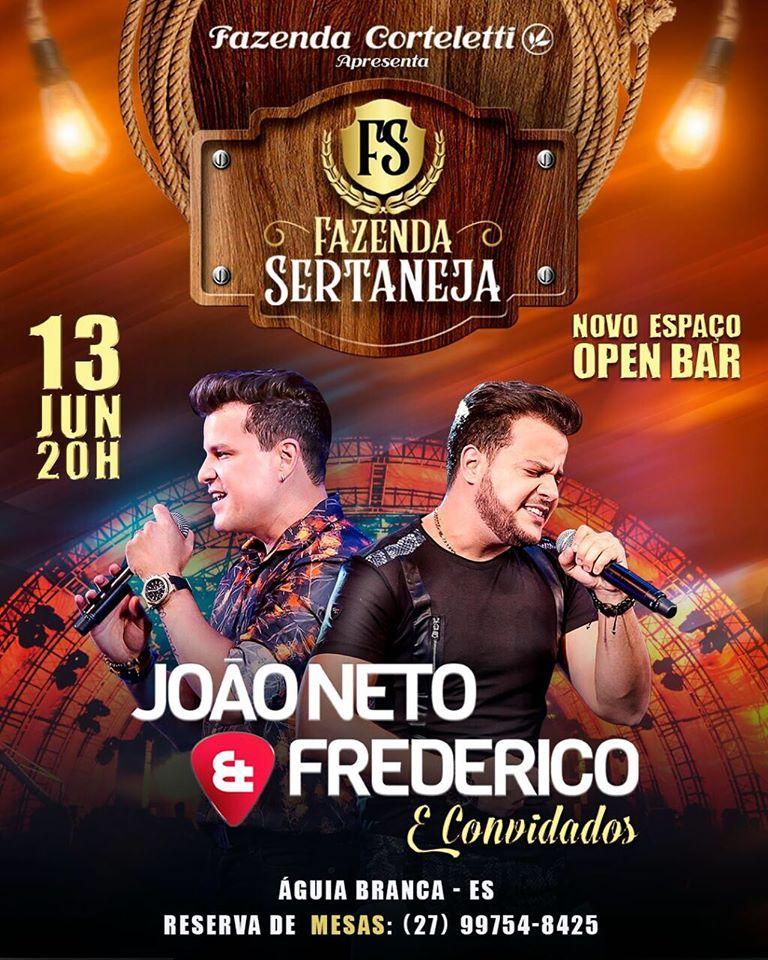João Neto & Frederico no primeiro