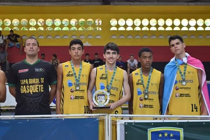 Formados nos Jogos Escolares, capixabas conquistam Campeonato Brasileiro de Basquete 3X3