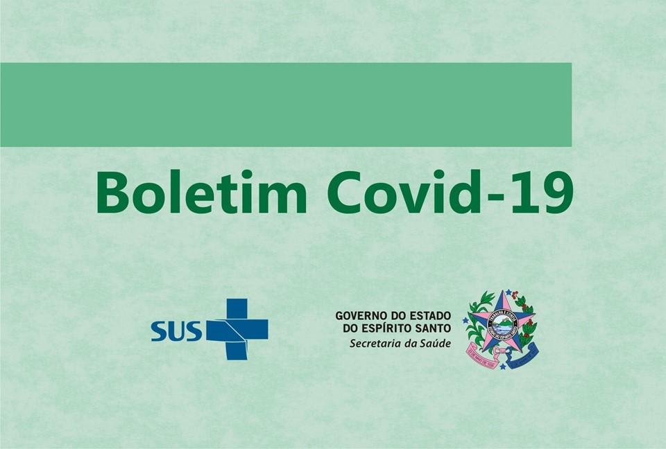 Confira o 26º boletim de Covid-19 divulgado pela Secretaria de Saúde do ES