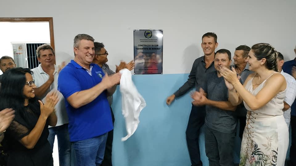 Pedro Pão inaugura escola em São Domingos do Norte