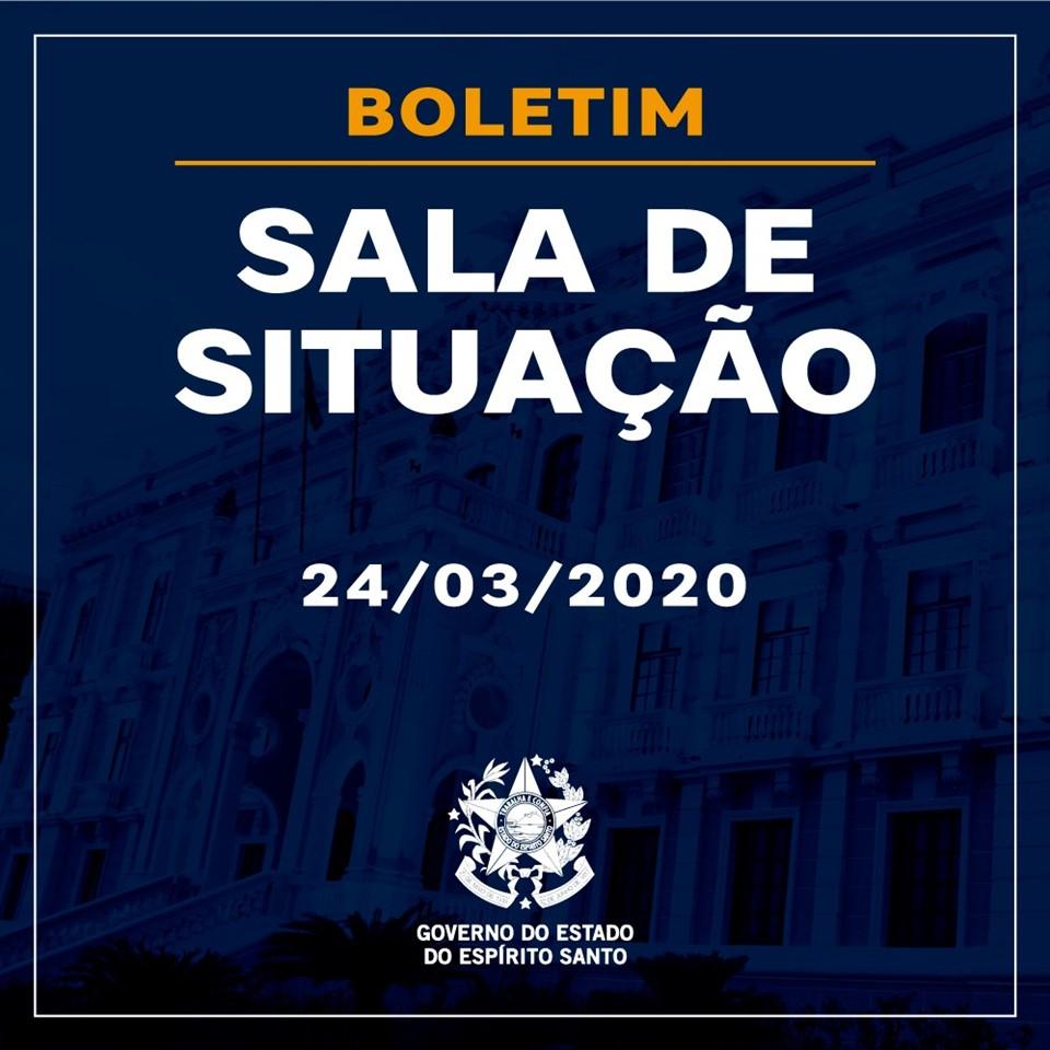SALA DE SITUAÇÃO – 24/03/2020